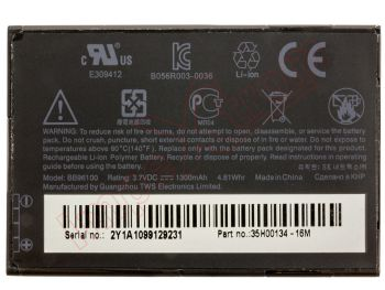 BB96100 battery for HTC devices