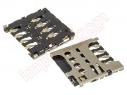 connector-of-card-sim-nokia-lumia-625-vodafone-smart-4-turbo-889n