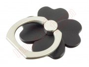 universal-360-degree-rotation-black-four-leaf-clover-style-for-smartphone
