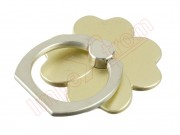 universal-360-degree-rotation-gold-four-leaf-clover-style