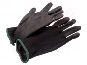 black-flower-leather-gloves-size-m