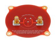 FPV Antenna Realacc Triple Feed Patch-1 5.8GHz 9.4dBi Polarized Circular Directional