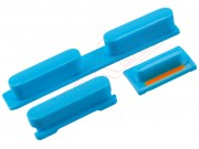 set-de-botones-azules-para-iphone-5c