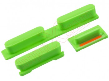 Set de botones verdes   para iPhone 5C