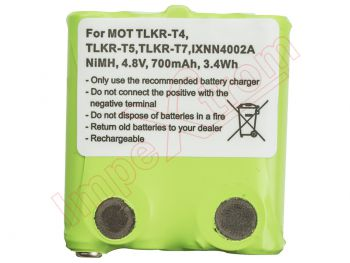 Generic batería NI-MH 4.8V 700mAh for BP-38