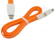 cable-de-datos-micro-usb-para-xiaomi-de-color-naranja-en-blister