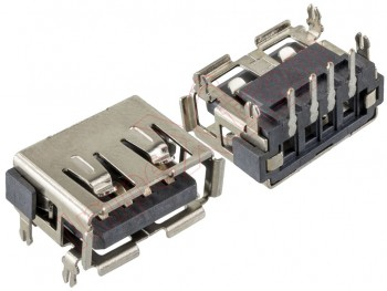 Short USB connector for portables 10 x 14.5 x 6.7mm