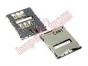 connector-of-card-sim-sony-xperia-z-l36h-c6602-c6603