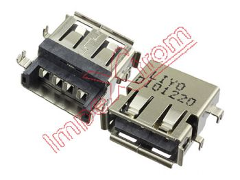 USB connector for portables 14 x 13 x 6.2mm