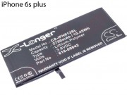 bateria-cs-iph612sl-generica-para-apple-iphone-6s-plus-2750mah-3-8v-10-4wh-li-polymer