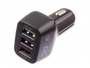 car-charger-3-usb-quick-charge-green-cell