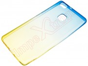 transparent-gold-blue-case-for-huawei-p9-lite