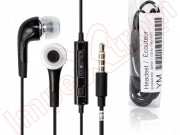 black-samsung-headset-hands-free-ehs64avfbec-for-samsung-devices