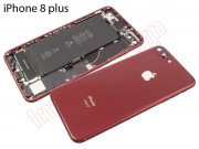 red-rear-cover-for-iphone-8-plus-4-7-with-components-remanufactured