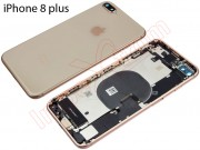pink-gold-battery-cover-for-phone-8-plus-with-components