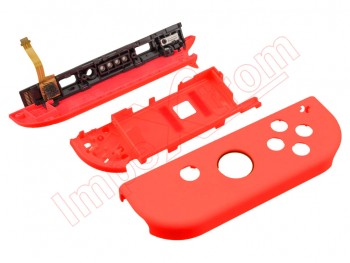 "Fluorescent red housing by Joycon right ""R"" for Nintendo Switch HAC-001"