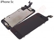 full-screen-black-for-iphone-5c-with-components-remanufactured