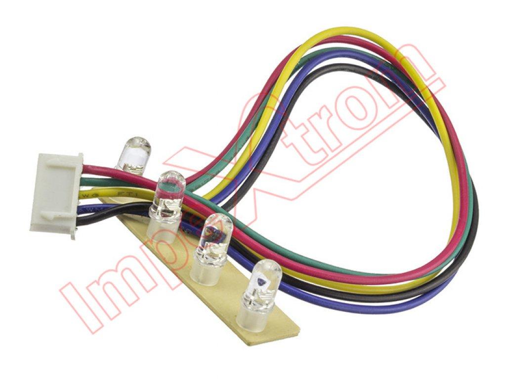 Luces de led de colores para monociclo el ctrico auto - Luces led de colores ...