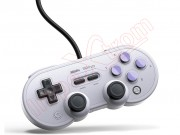 gamepad-8bitdo-n30-pro-in-gray-and-black-color-for-windows-switch-steam-and-raspberry-pi-sn-pro-usb