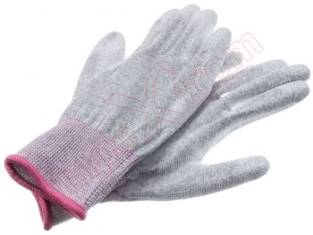 Antistatic and ESD tactile glove, size S