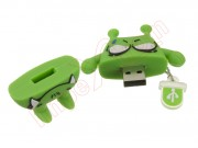 Memoria Mooster usb de 16 GB diseño monstruo verde TOON USB COLLECTION